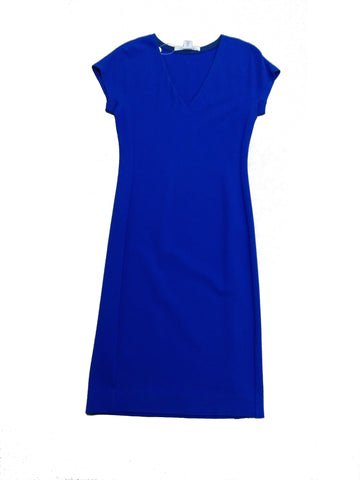 DIANE VON FURSTENBERG Royal Blue Dress