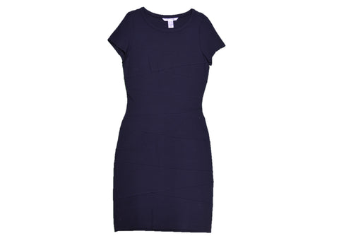 DIANE VON FURSTENBERG Navy Dress