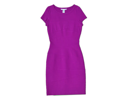 DIANE VON FURSTENBERG Purple Dress