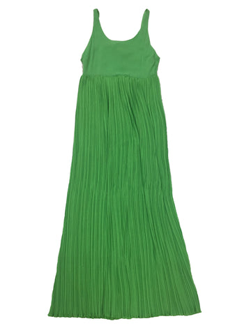 ALICE + OLIVIA Green Sleeveless Summer Full length Dress