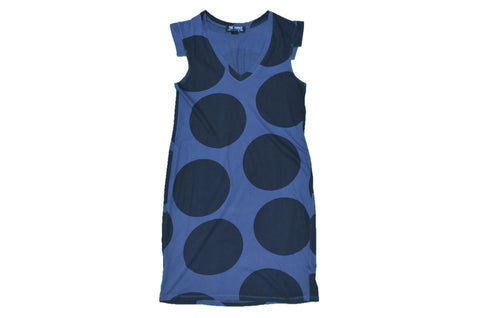 THE FURIES Blue-Dotted Dress