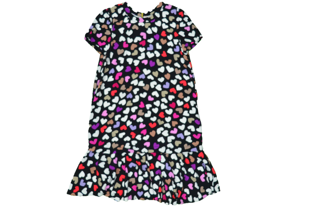 KATE SPADE Black Dress with Multi-color Hearts