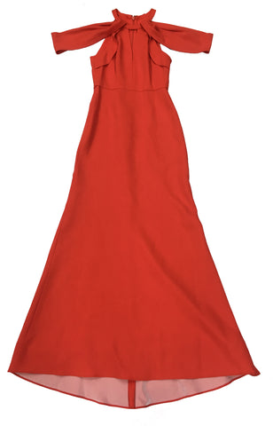 DRESS UP Red Evening Gown