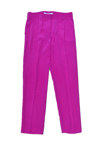 DIANE VON FURSTENBERG Purple Trousers