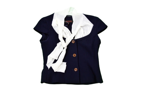 ESCADA Navy, White Jacket
