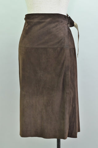 JIL SANDER Brown Skirt