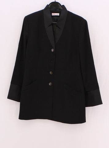 KL BY KARL LAGERFELD Black Long Jackets