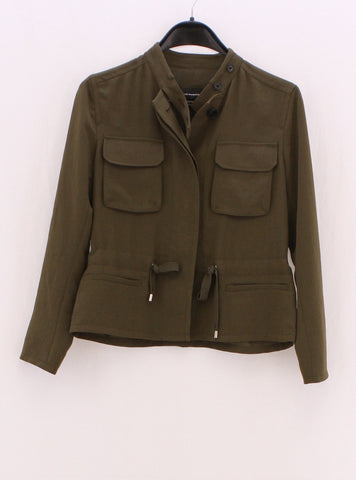 CLUB MONACO Army Green Jacket