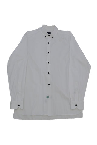 LANVIN WHITE SHIRT WITH BLACK BUTTONS
