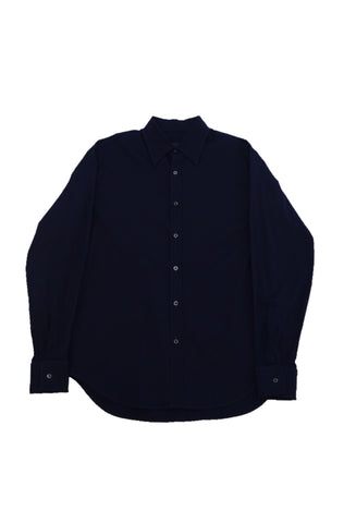 PRADA NAVY COTTON SHIRT