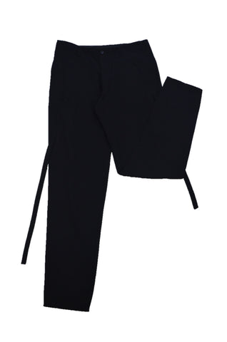 YOHJI TAMAMOTO BLACK TROUSERS