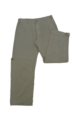 MARNI BEIGE COTTON TROUSERS