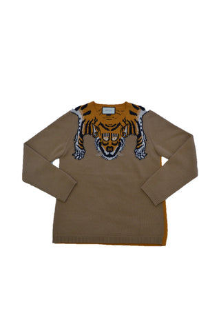 GUCCI CAMEL WOOL SWEATER