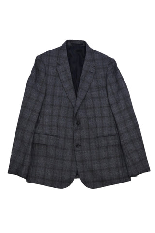 CERRUTI DARK GRAY WOOL BLAZER