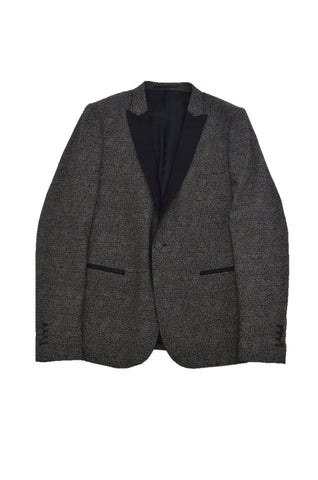 THE KOOPLES BLACK/GRAY WOOL SUIT