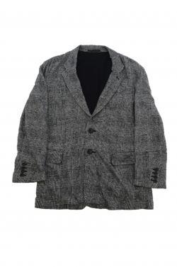 Y's BLACK/GREY BLAZER
