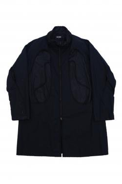 RAF SIMONS DARK NAVY COAT