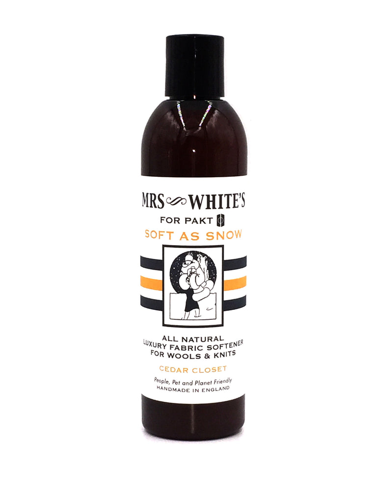 MRS WHITE'S - Soft as Snow (Fabric Softener for Wools & Knits) 250ml