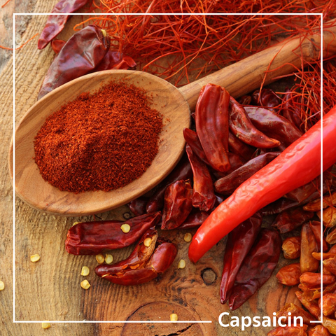 capsaicin for topical rub natural pain relief oil