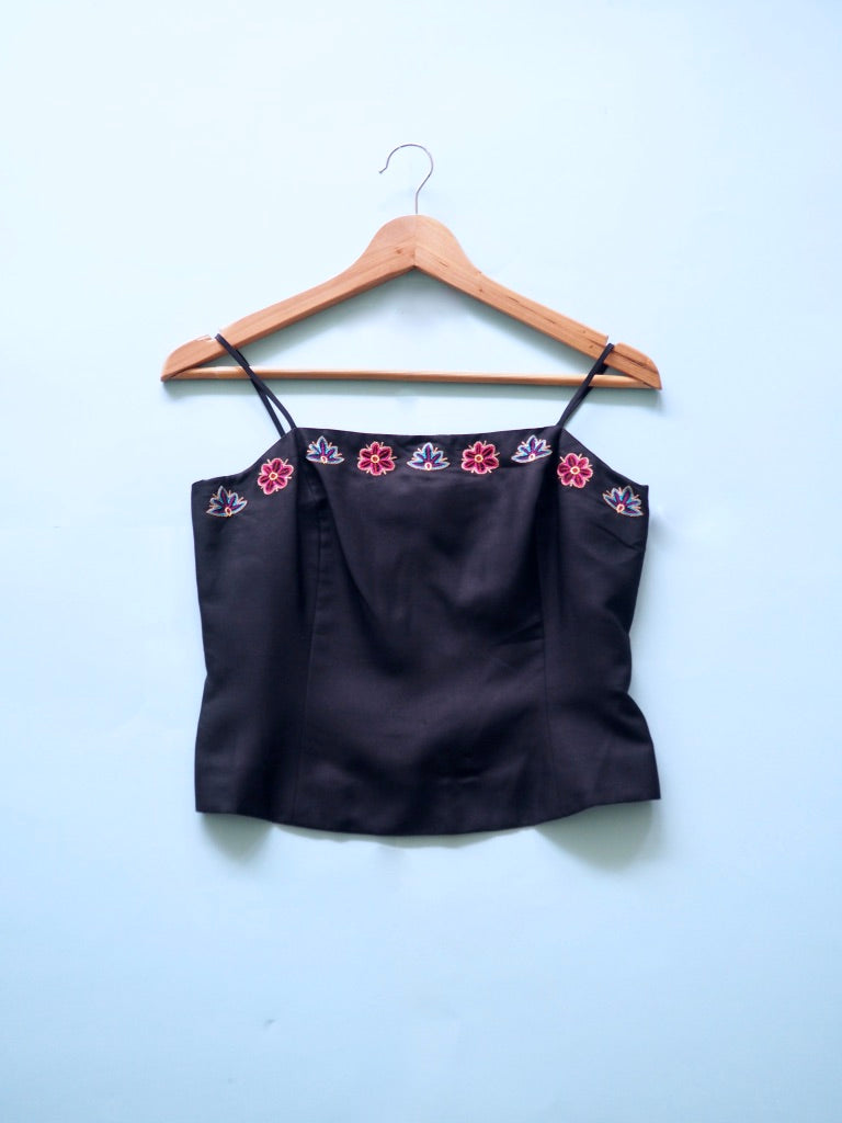 Embroidered Cami
