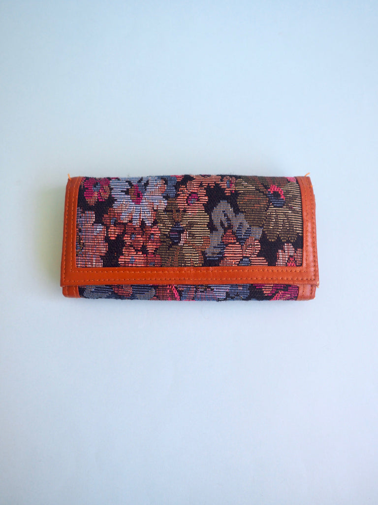 Floral Tapestry Wallet