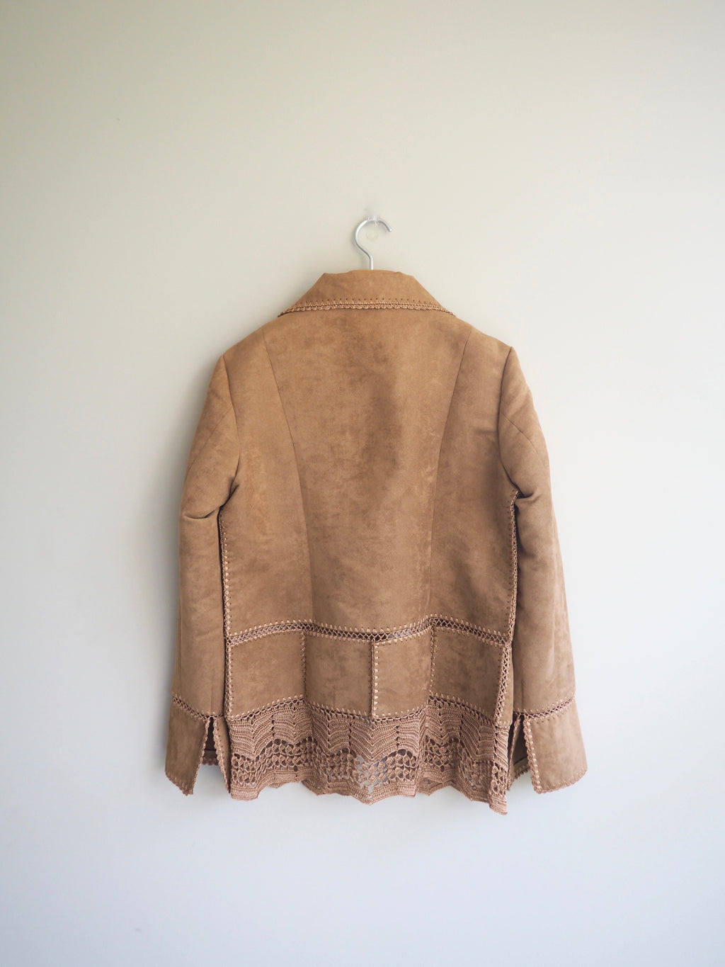 Crochet Trim Jacket
