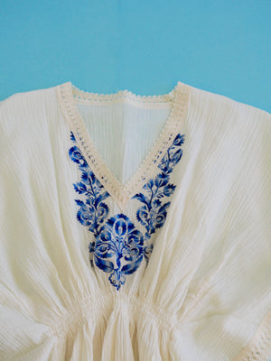 Ivory Embroidered Blouse
