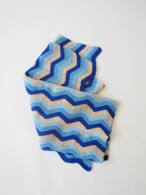 Blue Throw