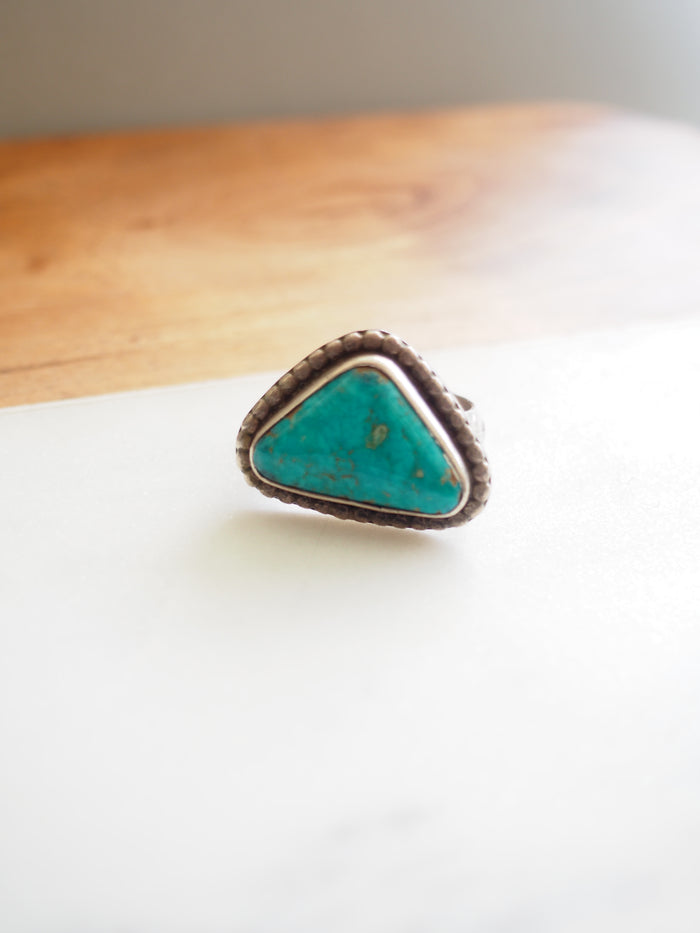 70s Turquoise Ring