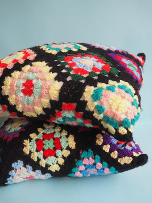 Crochet Pillow Set