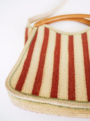 Swirl straw bag