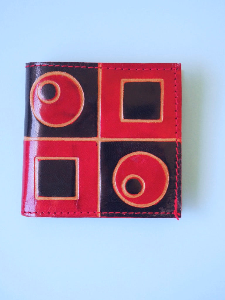 Red and Black Wallet