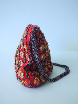 Beaded Mirror Bag