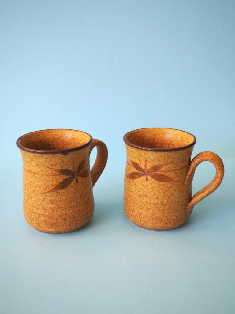 Speckled Golden Mug Set