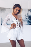Bella Lace Set - White Dress - Sert Store