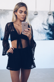Bella Lace Set - Black Set - Sert Store