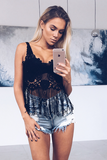 Nadia Crochet Crop Top - Sert Store