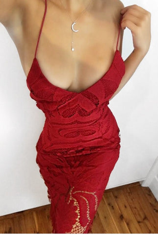 Khaleesi Dress - Red