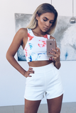 Phoebe Shorts - White