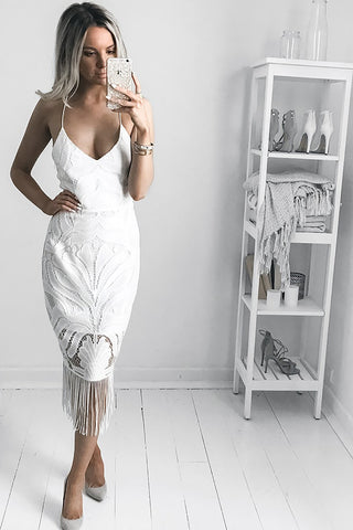 Khaleesi Dress - White Dress - Sert Store