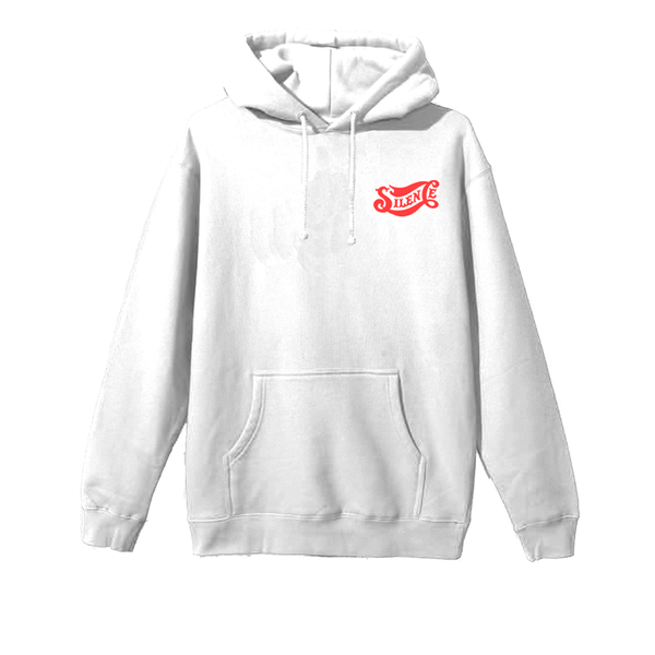 Silent Cola Hoodie - White