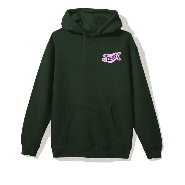 Silent Cola Hoodie - Forest Green