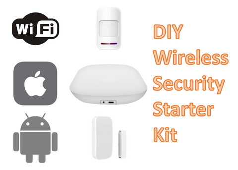 wireless security starter kit
