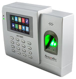 FingerTec AC100C | Fingerprint Time Clock with FREE desktop software, TCMSv3