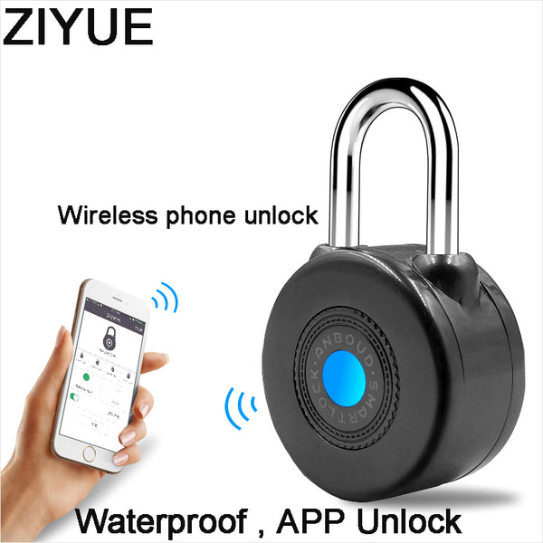 Waterproof Outdoor Padlock | Bluetooth Controlled | Perfect for locking bicycles