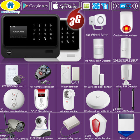 GS Wireless Security System Accessories | WiFi and 3G wireless security systems | Compatible with GS products