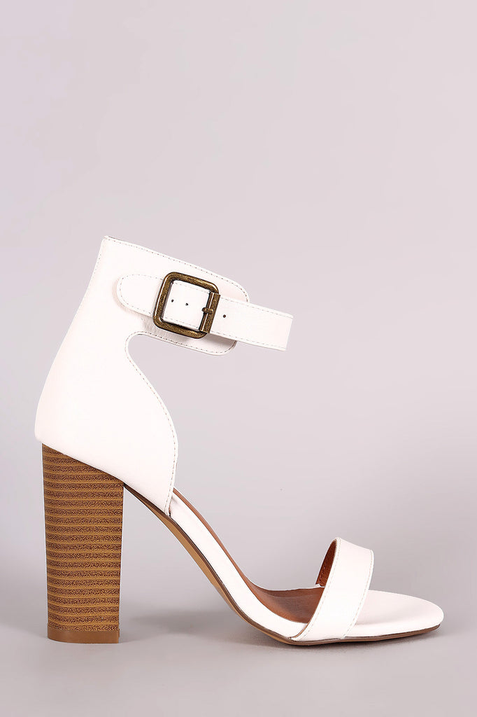 a57e419d65f2 Single Band Ankle Cuff Chunky Heel – bvstore-26645
