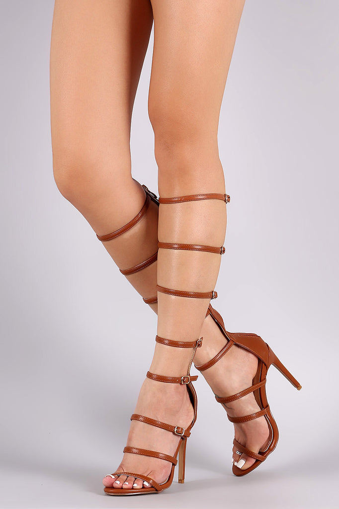 3a0324d00f24 Liliana Strappy Buckled Gladiator Heel  Liliana Strappy Buckled Gladiator  Heel ...