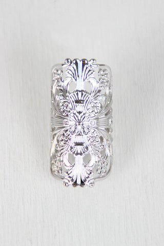 Filigree Cuff Ring