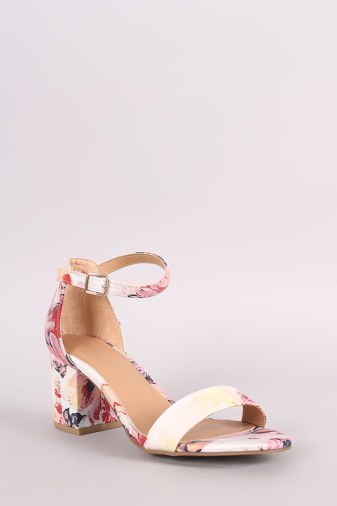 06d318a3eac Bamboo Printed Ankle Strap Chunky Heel – Kurve Boutique